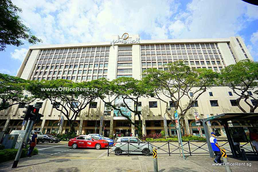 Park Mall Commercial Office and Retail Complex - OfficeRent.sg